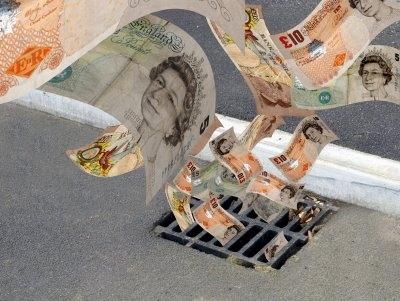 Draining Finances